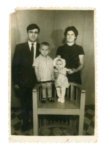 Cuţa, Antonia, Marin, Lenuţa (c. 1969)