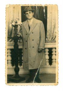 Cuţa before he was married
